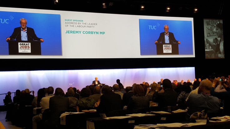 CORBYN AT TUC SEPT 2015